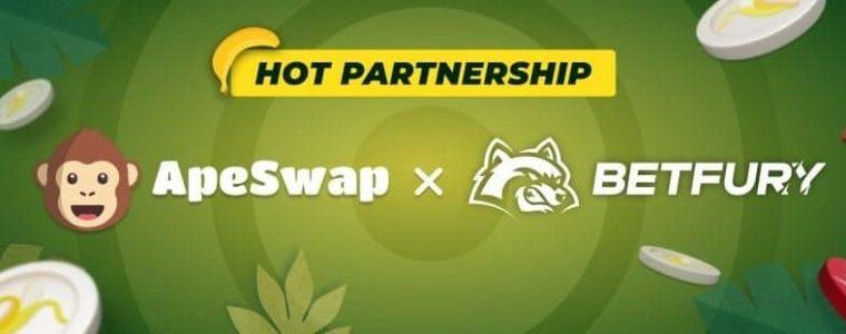 BetFury: Collaboration with Apeswap
