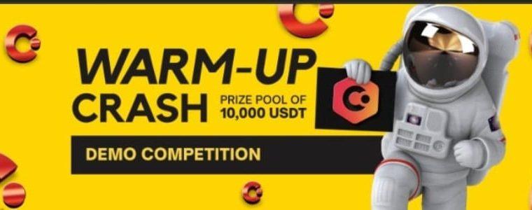 Bitcarra: Warm-Up Crash Event with 10,000 USDT prize pool